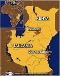 kenia-tansania-karte