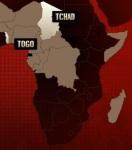 afrika-karte-togo-tschad