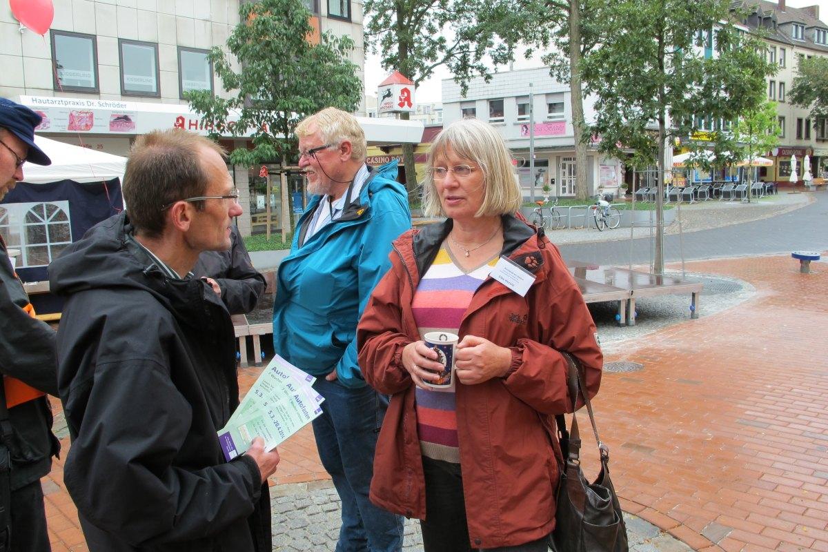 Klimafreundliche Mobilität - EWU-Tag 2013