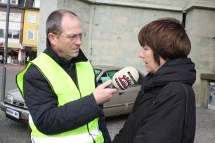Interview Lippe Welle Hamm mit Frau Schulze Böing von der Stadt Hamm