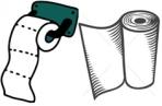 klo-und-handpapier