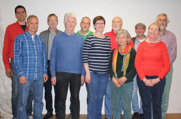 FUgE-Vorstand mit Kassenprüfern und GF
